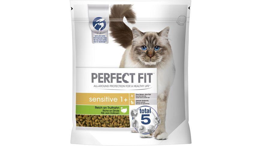 PERFECT FIT™ Katze Beutel Sensitive 1+ mit Truthahn 1,4kg