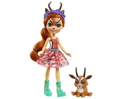 Mattel Enchantimals GTM26 Gabriela Gazelle Puppe