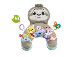 Fisher Price Faultier Spielkissen mit Vibration Baby Spielzeug ab 0 M