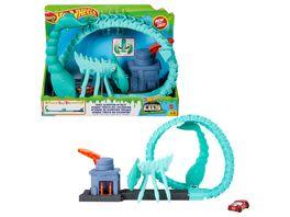 Hot Wheels City Giftige Skorpion Attacke mit Looping inkl Spielzeugauto