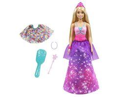 Barbie Dreamtopia 2 in 1 Prinzessin Meerjungfrau Puppe Anziehpuppe