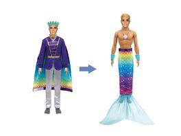 Barbie Ken Dreamtopia 2 in 1 Prinz Meermann Puppe Anziehpuppe