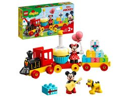 LEGO 10941 DUPLO Disney Mickys und Minnies Geburtstagszug Spielzeug
