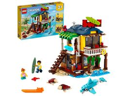 LEGO 31118 Creator Surfer Strandhaus Konstruktionsspielzeug