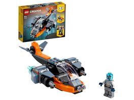 LEGO 31111 Creator Cyber Drohne Konstruktionsspielzeug