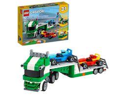 LEGO 31113 Creator Rennwagentransporter Konstruktionsspielzeug
