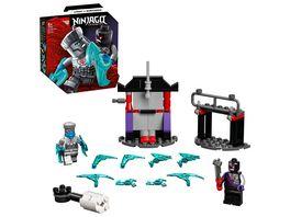 LEGO 71731 NINJAGO Battle Set Zane vs Nindroid Konstruktionsspielzeug