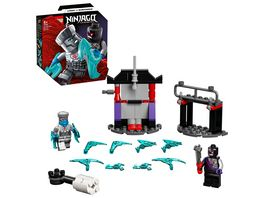 LEGO Ninjago 71731 Battle Set Zane vs Nindroid