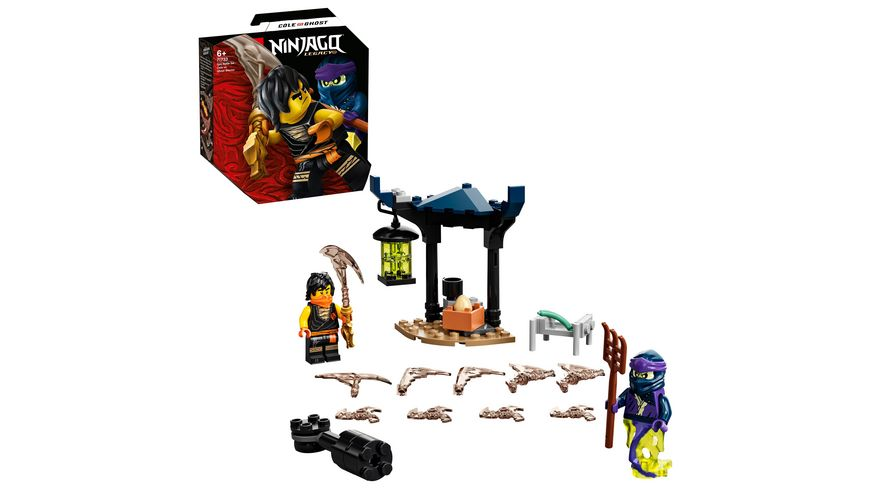 LEGO Ninjago 71733 Battle Set Cole vs Geisterkaempfer