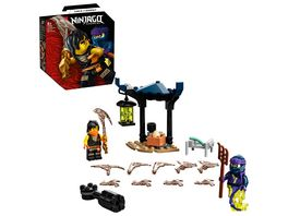 LEGO 71733 NINJAGO Battle Set Cole vs Geisterkaempfer Spielzeug