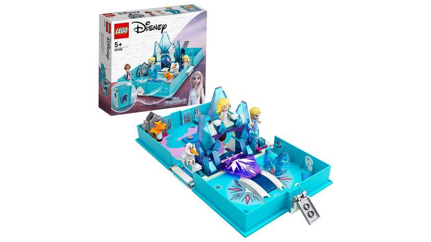 LEGO 43189 Disney Princess Elsas Märchenbuch, Konstruktionsspielzeug
