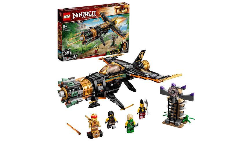 LEGO 71736 NINJAGO Coles Felsenbrecher, Konstruktionsspielzeug