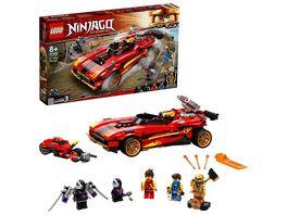 LEGO 71737 NINJAGO X 1 Ninja Supercar Konstruktionsspielzeug