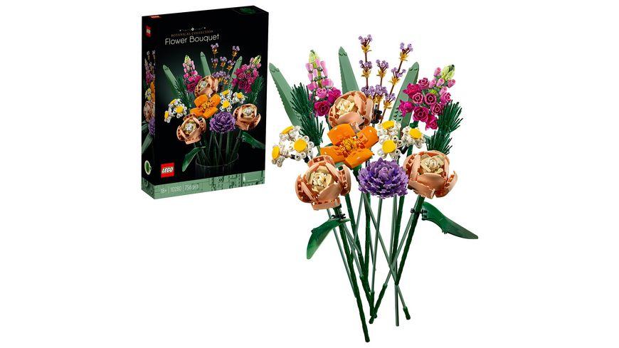 LEGO 10280 Creator Expert Blumenstrauß, Konstruktionsspielzeug