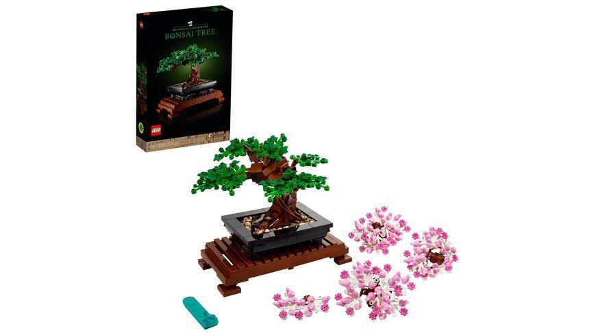 LEGO 10281 Creator Expert Bonsai Baum, Konstruktionsspielzeug