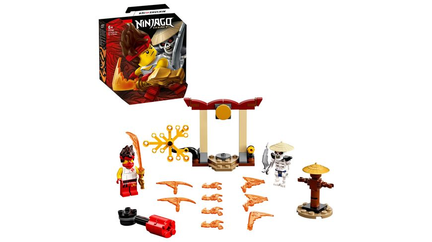 LEGO Ninjago 71730 Battle Set Kai vs Skulkin
