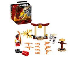 LEGO 71730 NINJAGO Battle Set Kai vs Skulkin Konstruktionsspielzeug