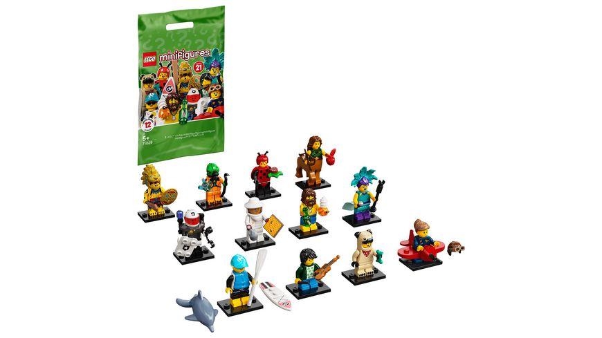 LEGO 71029  Minifiguren Serie 21, Konstruktionsspielzeug