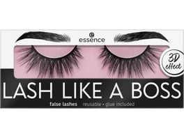 essence LASH LIKE A BOSS false lashes OMG