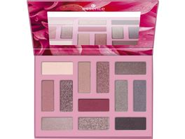 essence OUT IN THE WILD eyeshadow palette 01 Don t stop blooming