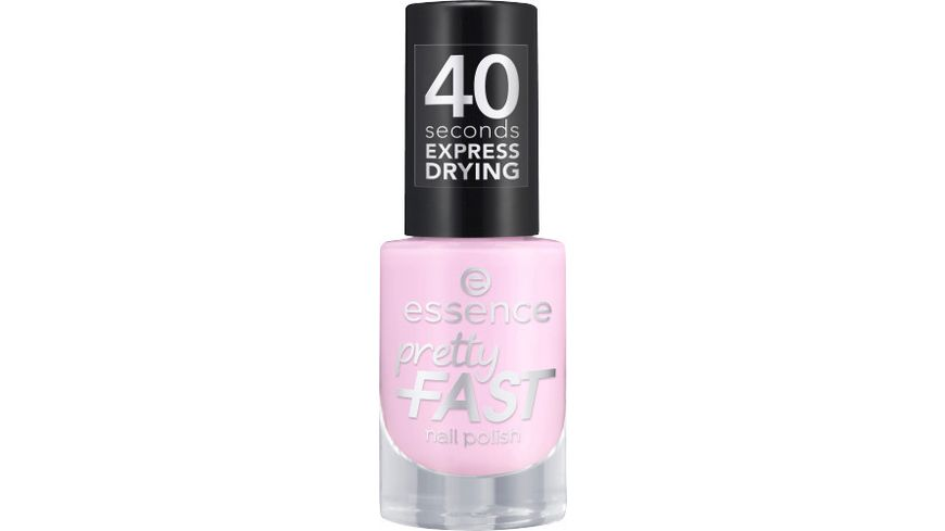 essence pretty FAST nail polish 01 Quick'n Pink