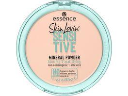 essence Skin Lovin SENSITIVE MINERAL POWDER 01 Translucent