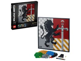 LEGO ART 31201 Harry Potter Hogwarts Wappen