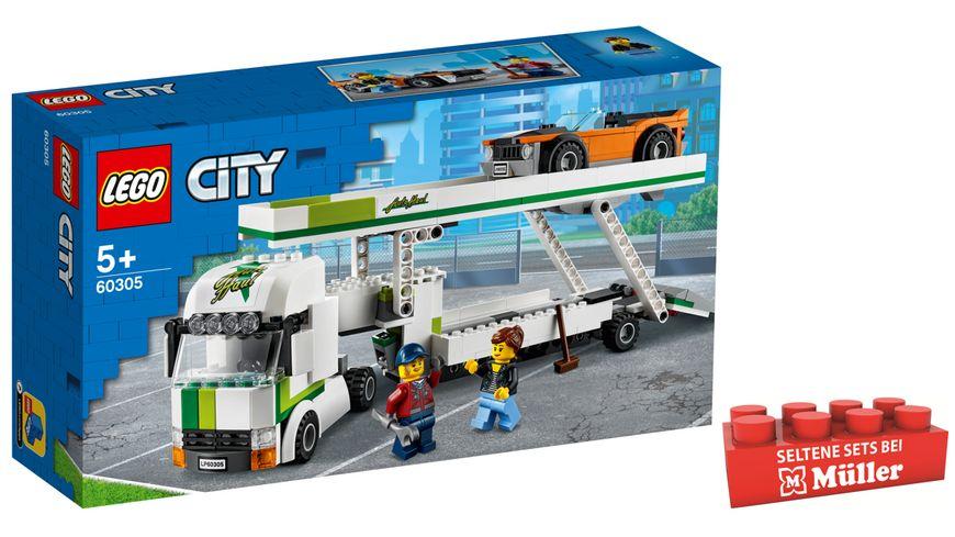 LEGO 60305 City Autotransporter, Konstruktionsspielzeug