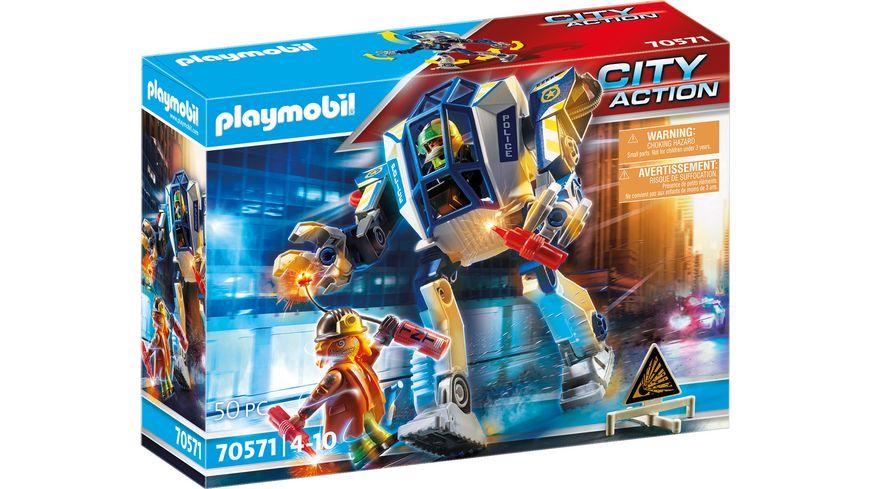 PLAYMOBIL 70571 - City Action - Polizei-Roboter: Spezialeinsatz