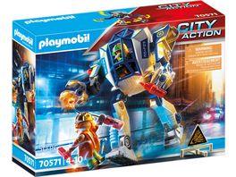 PLAYMOBIL 70571 City Action Polizei Roboter Spezialeinsatz