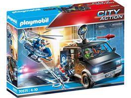 PLAYMOBIL 70575 City Action Polizei Helikopter Verfolgung des Fluchtfahrzeugs