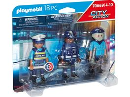 PLAYMOBIL 70669 City Action Figurenset Polizei
