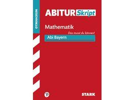 AbiturSkript Mathematik Bayern nur online erhaeltlich