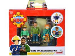 Simba Feuerwehrmann Sam Superhelden Figurenset