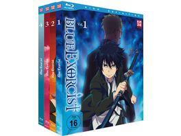Blue Exorcist Staffel 1 Gesamtausgabe Blu ray Box 4 BRs