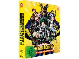 My Hero Academia 1 Staffel Gesamtausgabe DVD Box Deluxe Edition 3 DVDs