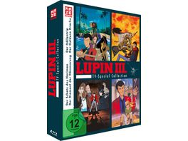 Lupin the Third TV Special Collection 4 TV Specials 4 BRs