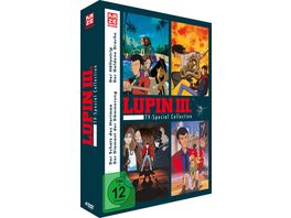 Lupin the Third TV Special Collection 4 TV Specials 4 DVDs
