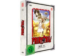 Fairy Tail TV Serie DVD Box 11 Episoden 253 277 4 DVDs