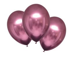 Amscan 6 Latex Balloons Satin Luxe Flamingo 27 5cm