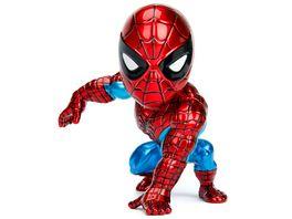 Jada Marvel 4 Classic Spider Man Metallfigur