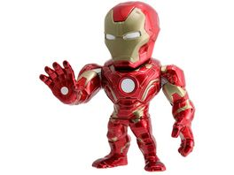 Jada Marvel 4 Iron Man Metallfigur