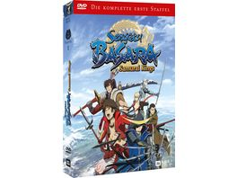 Sengoku Basara Samurai Kings DVD Box Staffel 1 Komplettbox 3 DVDs