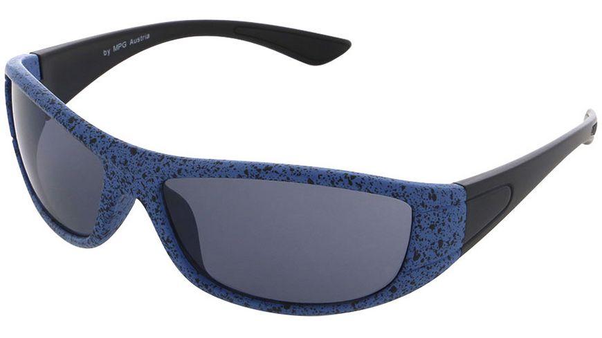 Basley Sun KIDS Sonnenbrille 8097-A-34 Kunststoff Matt Blau/Schwarz