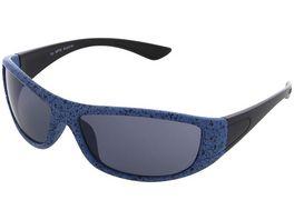 Basley Sun KIDS Sonnenbrille 8097 A 34 Kunststoff Matt Blau Schwarz