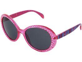 Basley Sun KIDS Sonnenbrille 8112 A 32 Kunststoff Pink Glitzersteine