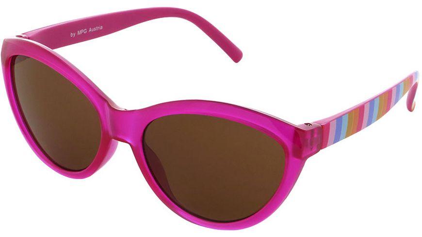 Basley Sun KIDS Sonnenbrille 8104-A-32 Kunststoff Pink/Gestreift