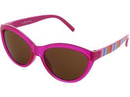 Basley Sun KIDS Sonnenbrille 8104 A 32 Kunststoff Pink Gestreift