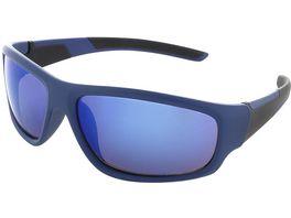 Basley Sun KIDS Sonnenbrille 8107 S 34 Kunststoff Blau Verspiegelt