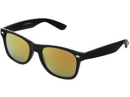 Basley Sun KIDS Sonnenbrille 8105 S 31 Kunststoff Schwarz Gelb